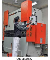 CNC bending company in india