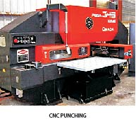 CNC punching Comany in india